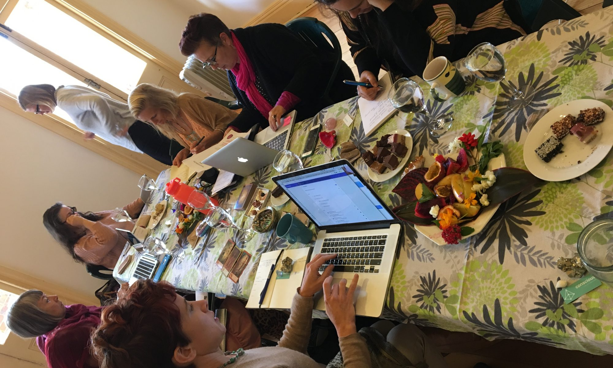 Table shot during roundtable