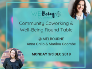 community WE-Being 3rd Dec